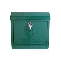 緑色のユーエス メールボックス(U,S, Mail box) アートワークスタジオ