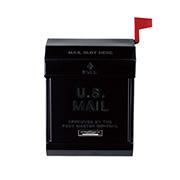 U.S.mail box 2 おしゃれポスト アートワークスタジオ TK-2078BK