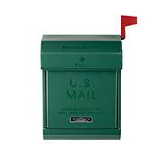 アートワークスタジオ TK-2078GN U.S. Mail box 2 メールボックス おしゃれポスト