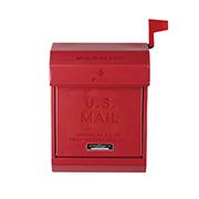 U.S.mail box 2 おしゃれポスト アートワークスタジオ TK-2078RD