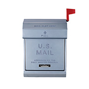 アートワークスタジオ TK-2078SV U.S. Mail box 2 メールボックス おしゃれポスト