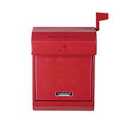 Mail box 2 アートワークスタジオ おしゃれポスト TK-2079RD