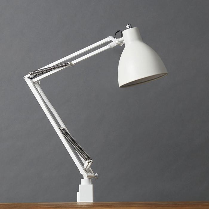 LEDデスクライト 電球色・60W相当 | ホワイト