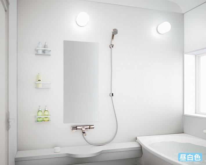 浴室灯事例イメージ 昼白色